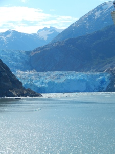 Tracy Arm Glacier... yes, it really is that blue