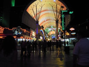 Fremont St, NV; Photo Credit: Doree Weller