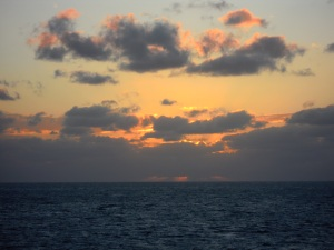 Atlantic Ocean, en route to the Bahamas Photo Credit: Doree Weller
