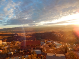 Sunrise, Jerome AZ Photo Credit: Doree Weller