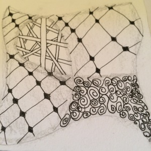 My first Zentangle